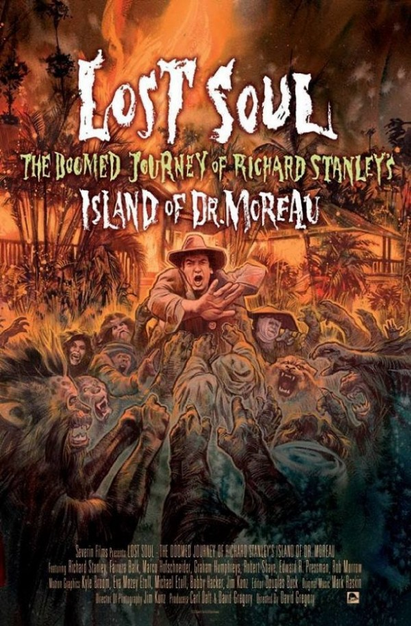 Affiche du film Lost Soul - The Doomed Journey of Richard Stanley's Island of Dr. Moreau