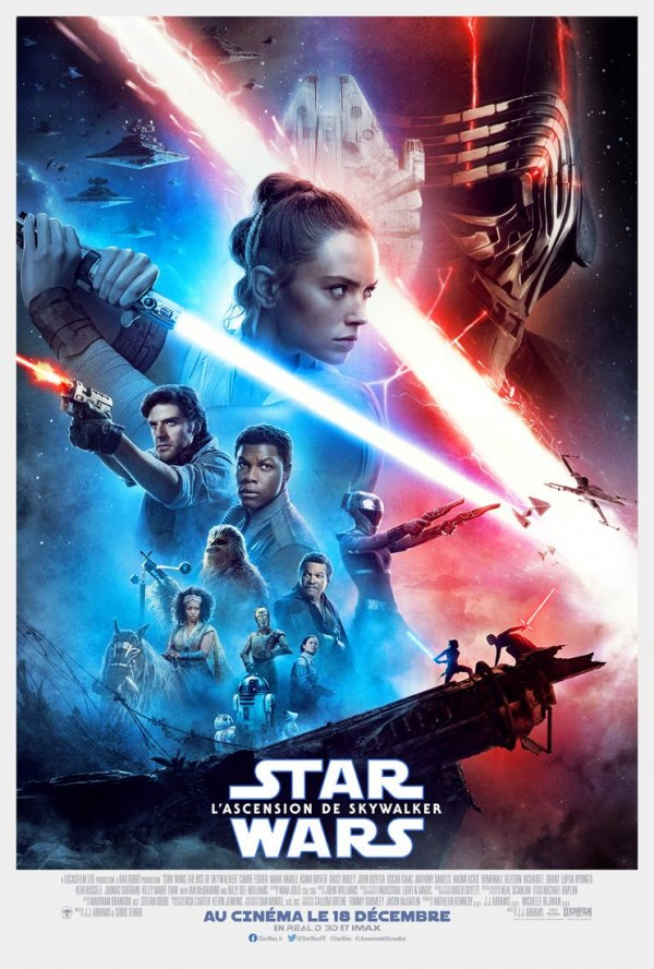 Affiche du film Star Wars : Episode IX