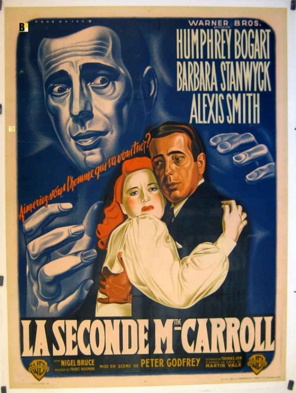 Affiche du film La Seconde Madame Carroll