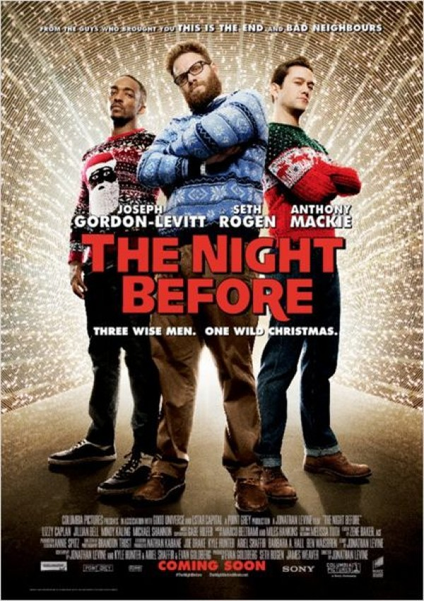 Affiche du film The Night Before