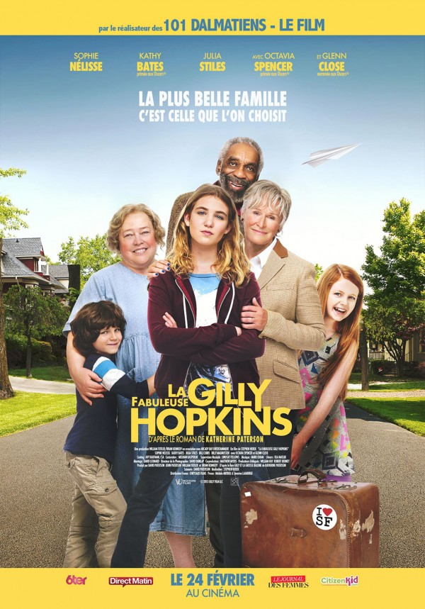 Affiche du film La Fabuleuse Gilly Hopkins