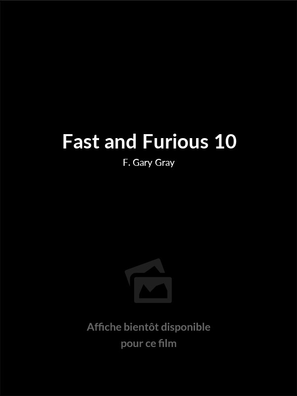 Affiche du film Fast and Furious 10