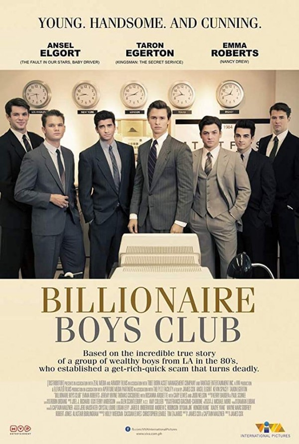 Affiche du film Billionaire Boys Club
