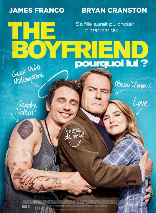 Affiche du film The Boyfriend - Pourquoi lui ?