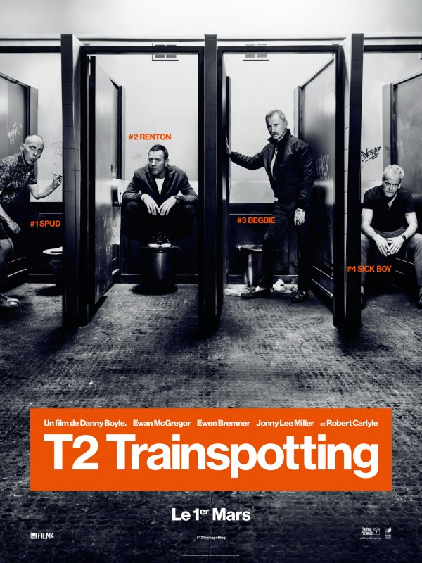 Affiche du film T2 Trainspotting