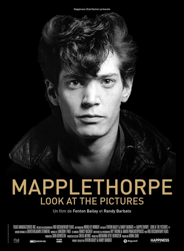 Affiche du film Mapplethorpe, look at the pictures