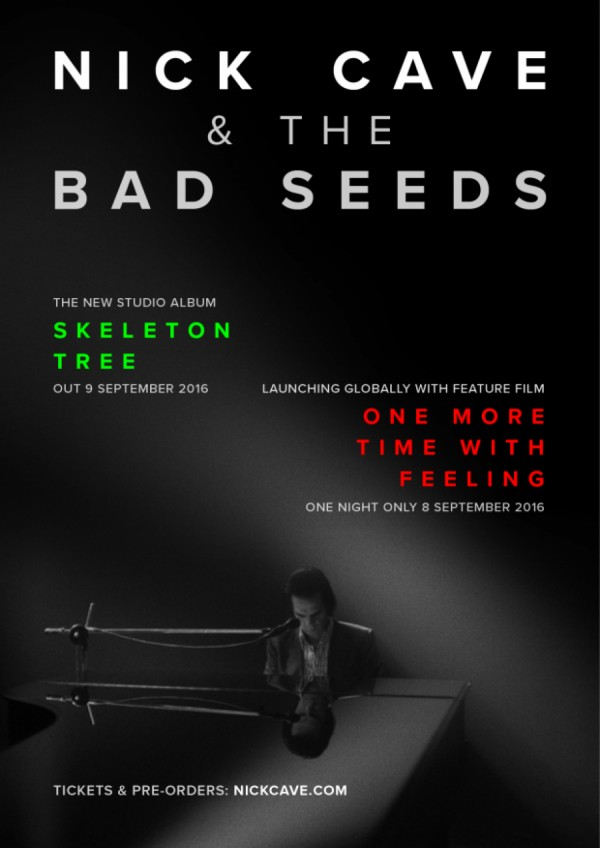Affiche du film Nick Cave & The Bad Seeds : One More Time With Feelings