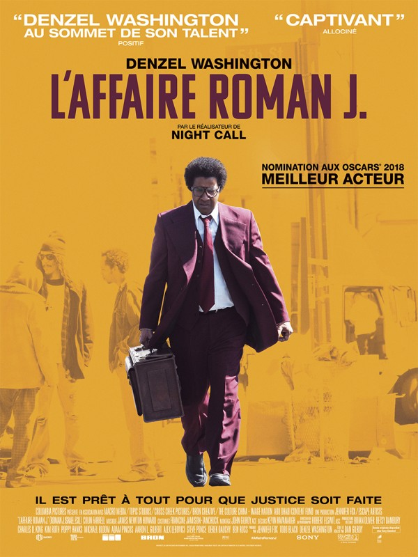 Affiche du film L'Affaire Roman J.