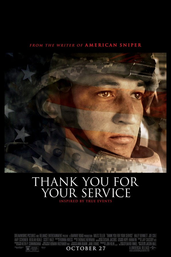 Affiche du film Thank You for Your Service