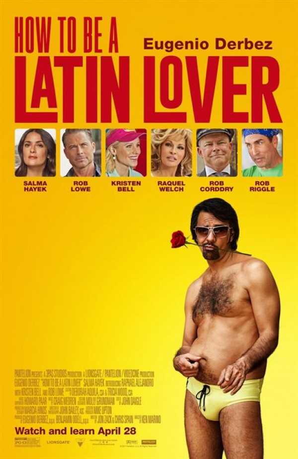 Affiche du film How to Be a Latin Lover