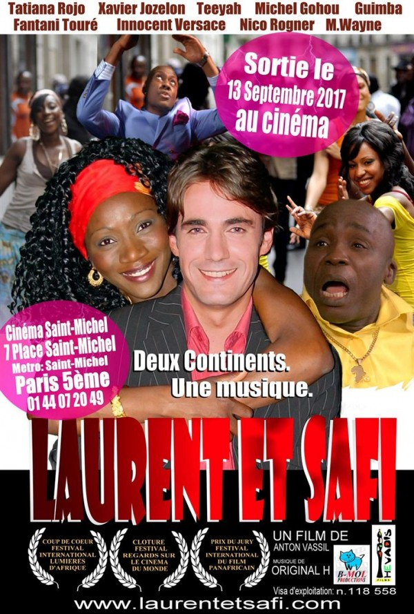 Affiche du film Laurent et Safi