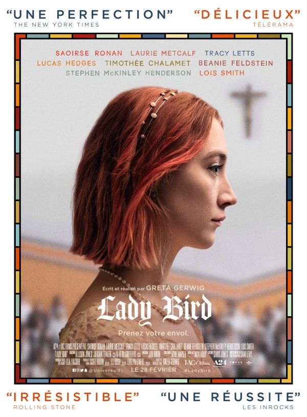 Affiche du film Lady Bird