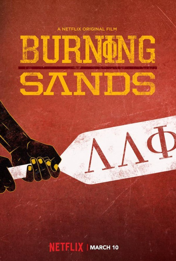 Affiche du film Burning Sands