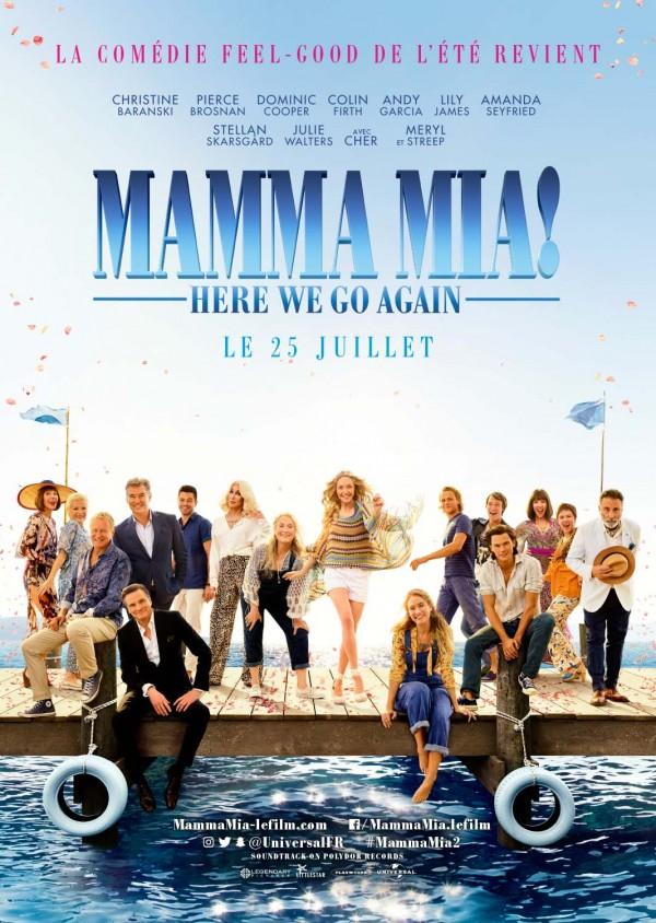 Affiche du film Mamma Mia: Here We Go Again!