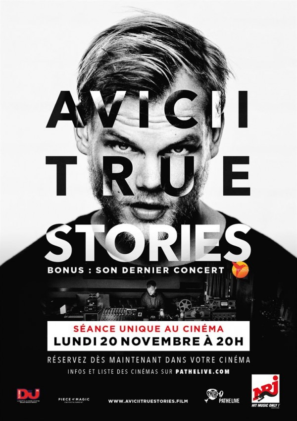 Affiche du film Avicii : True Stories