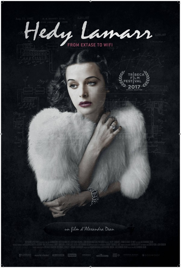 Affiche du film Hedy Lamarr : from extase to wifi