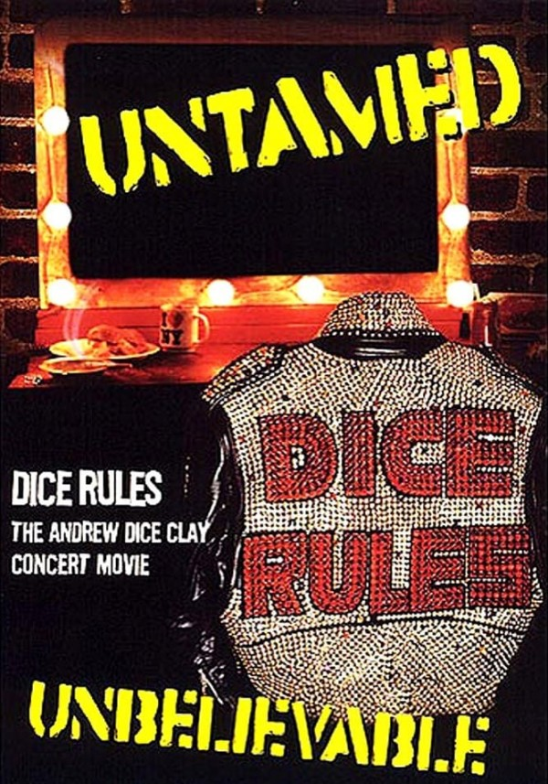 Affiche du film Andrew Dice Clay: Dice Rules