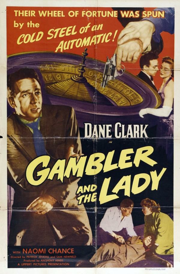 Affiche du film The Gambler and the Lady