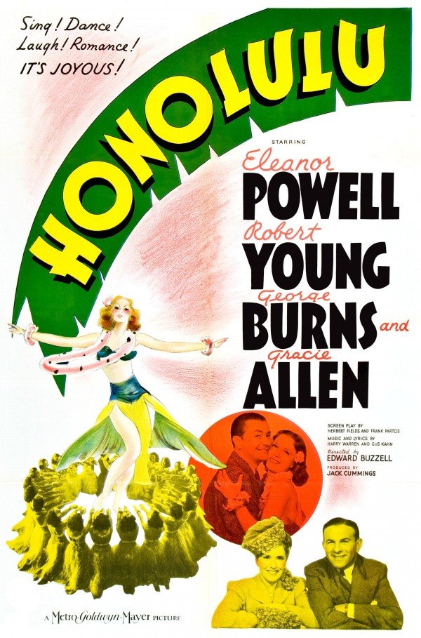 Affiche du film Honolulu