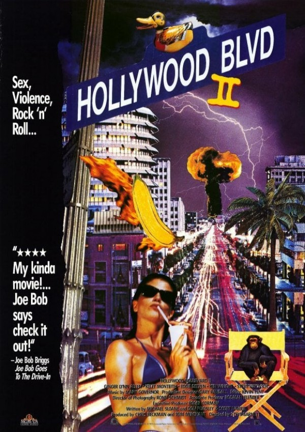 Affiche du film Hollywood Boulevard II