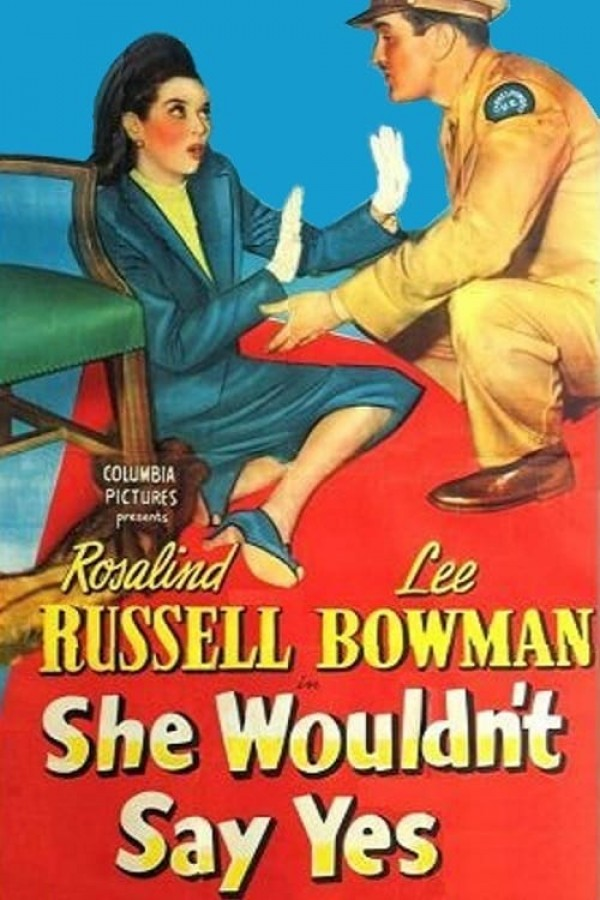 Affiche du film She Wouldn't Say Yes