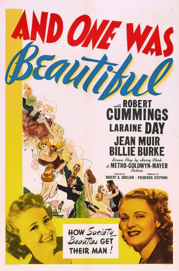 Affiche du film And One Was Beautiful