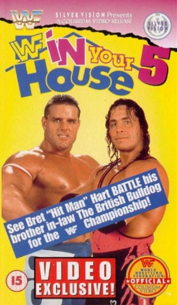 Affiche du film WWE In Your House 5: Seasons Beatings