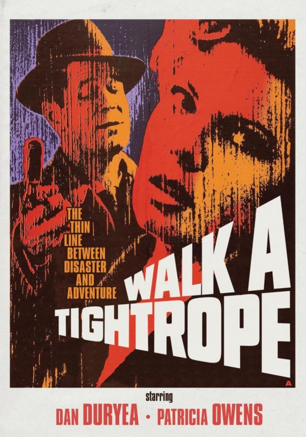Affiche du film Walk a Tightrope