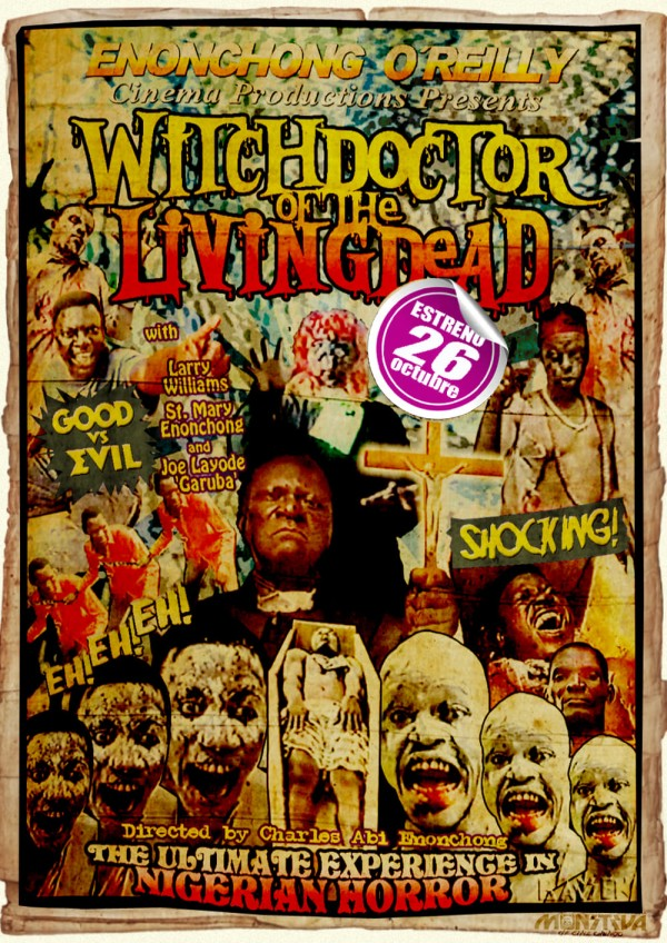 Affiche du film Witchdoctor of the Livingdead