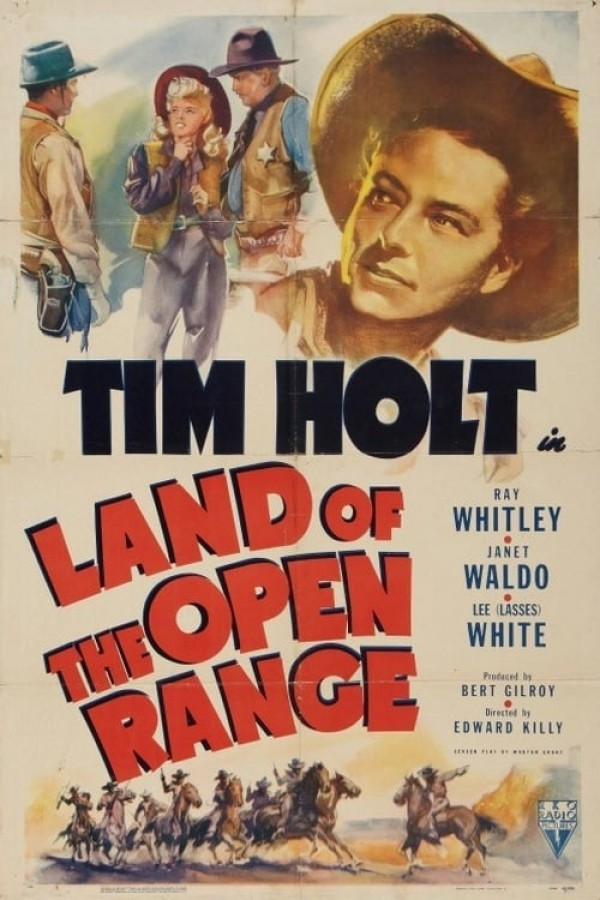 Affiche du film Land of the Open Range
