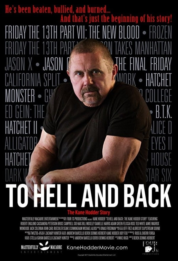 Affiche du film To Hell and Back: The Kane Hodder Story