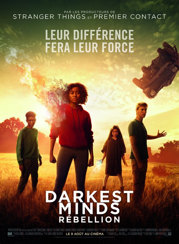 Affiche du film Darkest Minds : Rébellion