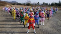 10 Large Squadron , Gathering You Ask! Turbo Ranger