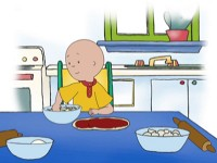 Caillou the chef