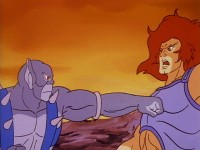 Lion-O's Anointment First Day: Trial of Strength