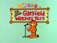 The First Annual Garfield Watchers Test