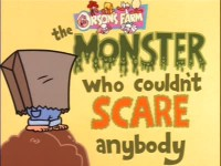 The Monster Who Couldn't Scare Anybody