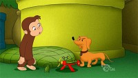 Curious George and the Balloon Hound