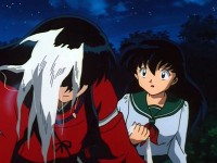 The Mystery of the New Moon and the Black-haired Inuyasha