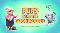 Pups save a Bookmobile