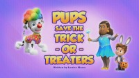 Pups Save the Trick-or-Treaters