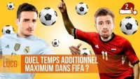 Quel temps additionnel maximum dans Fifa ?