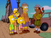 Le safari des Simpson