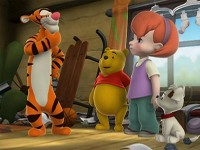 Tigger Cleans House