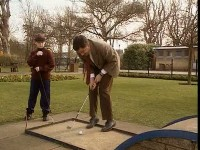 Le Mini-golf de Mr. Bean