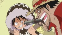 Situation explosive ! Luffy VS Faux Luffy