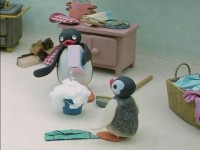 Pingu Argues with his Mother