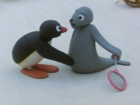 Pingu is Not Allowed to Join in the Games
