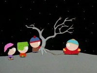 Cartman a une sonde anale