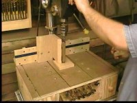 Pen and Lathe Turning on a Drill Press (Homemade DP Table P2)